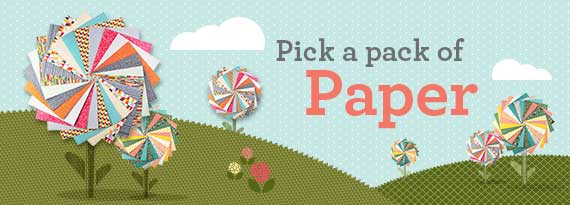 Pick a paper pack