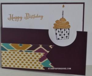 Bohemian Cards Cupcake