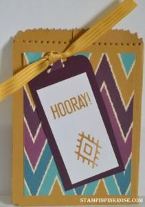 Bohemian Cards Mini Treat Bag