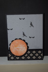 Woodlands Embossing folder 003