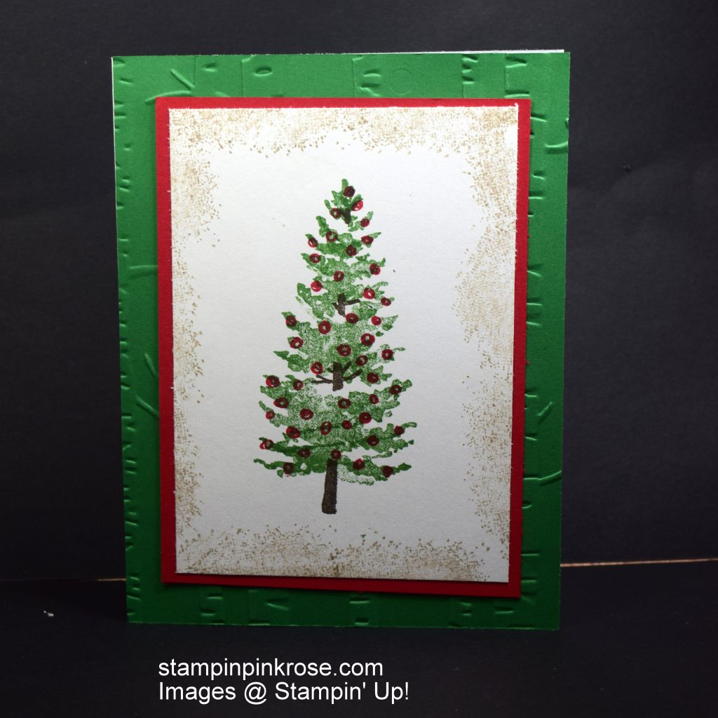 Oh Christmas Tree | Stampin\' Pink Rose